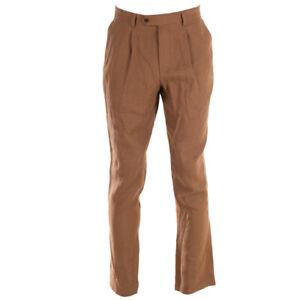 FAR-AFIELD-Pantalon-Marron-Lin-Soi