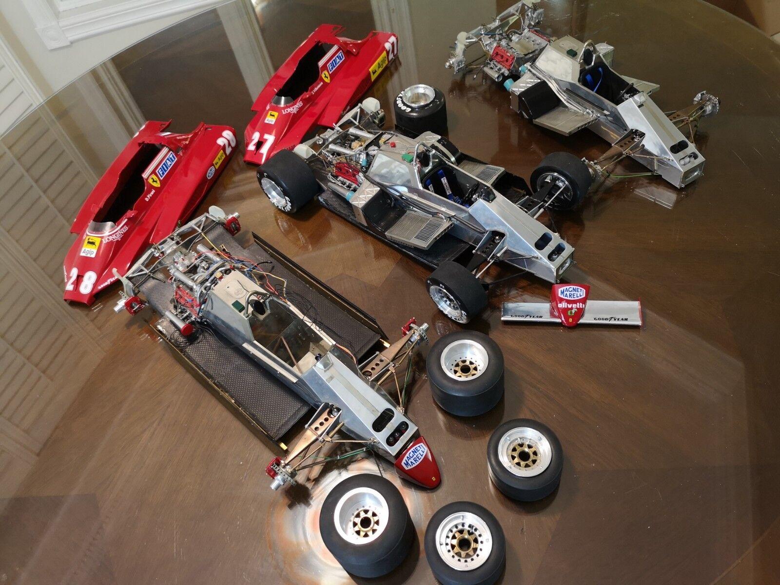 Promokom Ferrari 126 C2 1 8 byggnadstjänster ej Pocher, Amalgam