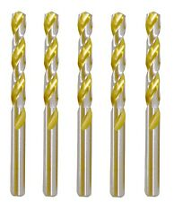 12 Pack Alfa Tools SH60311DB Number 11 High-Speed Steel Double End Split Point Sheet Metal Drill with Bright Finish