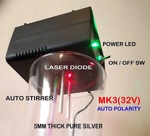 COLLOIDAL-SILVER-GENERATOR-MK3-32V-5MM-SILVER-AUTO-POLARITY-STIRRER-LASER