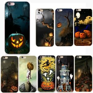 Halloween-Silicone-Back-Phone-Case-Shockproof-Soft-TPU-Bumper-Cover-for-iPhone-8