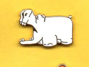 Pin-039-s-Lapel-pin-Pins-IPODEC-ROLAND-GARROS-Hippopotame-ARTHUS-BERTRAND-PARIS