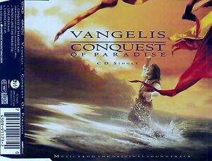 VANGELIS-CONQUEST-OF-PARADISE-4-TRACK-CD