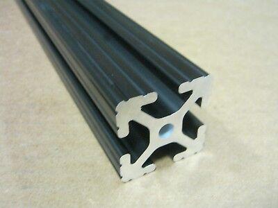 80//20 Inc 1.5 x 1.5 TSlot Aluminum Extrusion 15 Series 1515-Lite x 48 Black H1-2