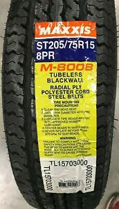 Maxxis-ST-Radial-M8008-ST-205-75R15-101Q-D-8-Ply-Trailer-Tire