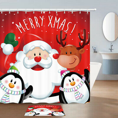 Unicorn Shower Curtain Bathroom Decor Fabric /& 12hooks Cartoon Symbol Flamingo