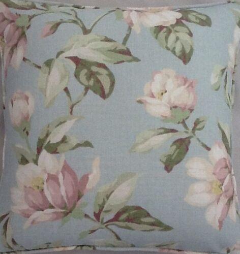A 16 pouces housse de coussin en laura ashley magnolia œuf canard tissu