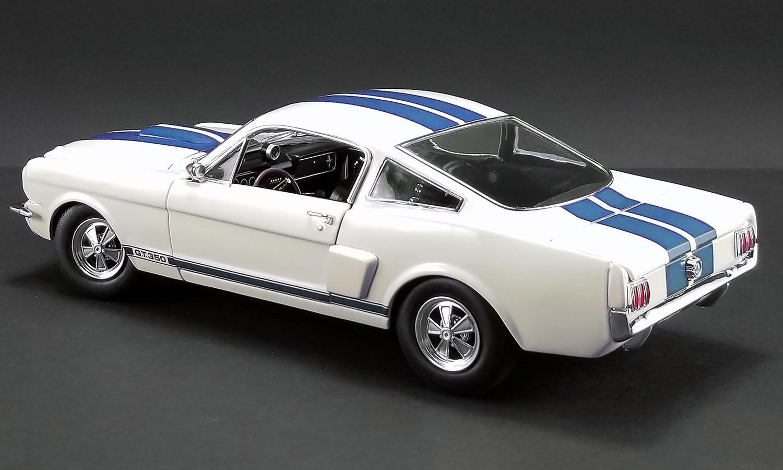 oferta especial 1966 1 18 Shelby Shelby Shelby Mustang GT350 sobrealimentados Wimbledon blancoo -  en Stock   colores increíbles
