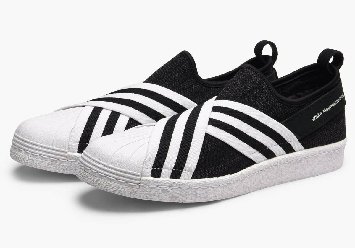 adidas Originals X White Mountaineering Men's Superstar Slip On Primeknit