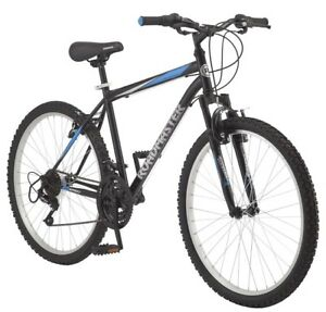 Mountain-Bike-Mens-Bicycle-Road-Master-Downhill-26-034-Trails-Offroad-Steel-Frame