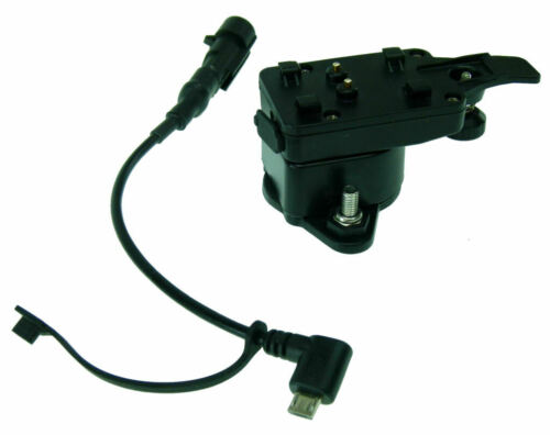Motocicleta cargador de cableado y montaje adaptador para Tigra Smart 4 /& Smart 5 Funda