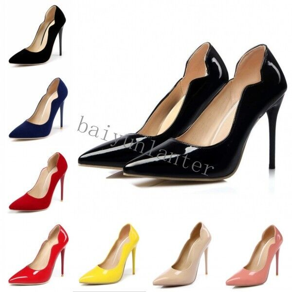 Sexy Lady Court shoes Pointy Toe High Heel Stiletto Clubwear Party shoes Plus Sz