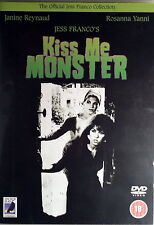 KISS ME MONSTER - Franco DVD Reynaud Yanni