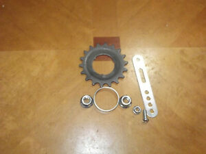 NOS Suntour Coaster brake Hub 18 tooth cog/sproket and hardware/Bendix/Shimano