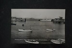 Postcard-Ship-Royal-Mail-Vessel-RMV-Scillonian-Penzance-Unposted-Real-Photo-RP