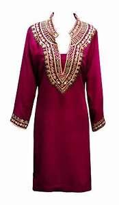 new product 7cfb3 6c68b Dettagli su Donna Indiano, Stile Bollywood Vestito da Festa Tunica  Abbigliamento Formale