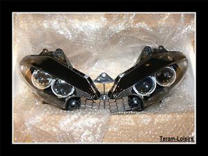 Optique-de-Phare-Avant-pour-Yamaha-YZF-R6-de-2003-2004-2005-NEUF