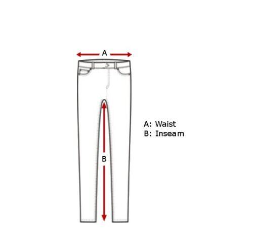 Hommes Pantalon Cargo Authentique Marron Cuir Vachette 6 Pockets Jeans