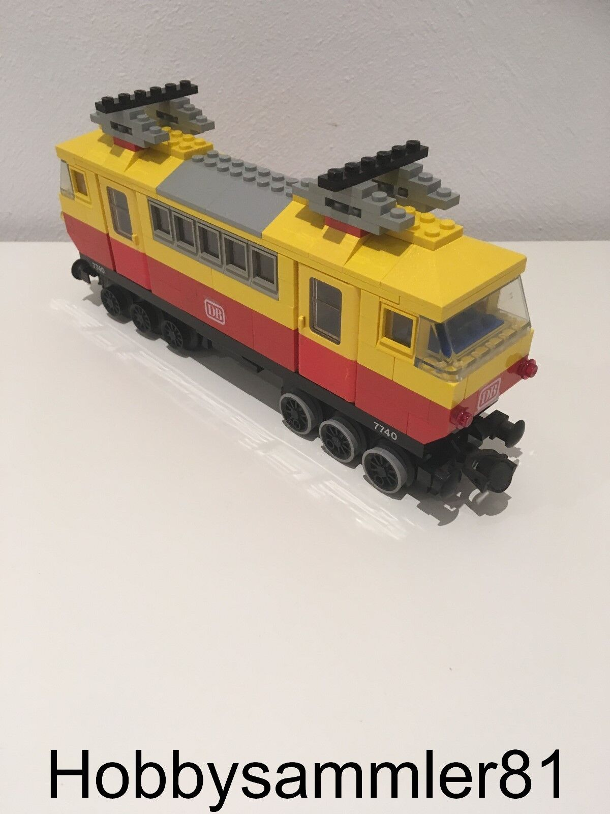 Lego® Personenzug 12V aus 7740 / Zug / Lok / Lokomotive / Eisenbahn / Bahn