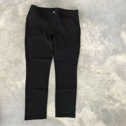 A15 Ann Taylor Black Stretch Jegging Stretch Skinny Slim Fit Jeggings Pants 14