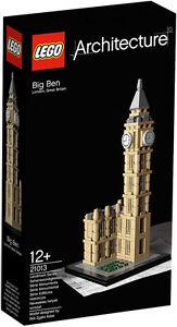 LEGO ARCHITECTURE 21013 BIG BEN NUOVO NEW