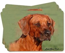 Rhodesian Ridgeback 'Love You Dad' Picture Placemats in Gift Box, DAD-92P