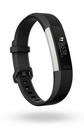 Fitbit Alta HR Heart Rate + Fitness Activity Tracker Black SMALL NEW IN BOX