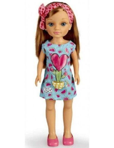 Bambola 40cm NANCY FOULARD Fashion Doll VESTITO con CACTUS Originale FAMOSA