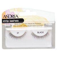 20 Pairs Andrea Modlash 21 False Eyelashes Strip Lashes Black 22110
