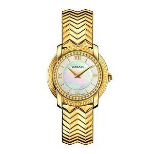 范思哲 vam040016 女士腕表 dv25 金色石英手表