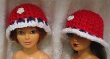 Tiffany Taylor & Magic Hair Crissy Doll Clothes HAT #05 Crochet Beanie CAP
