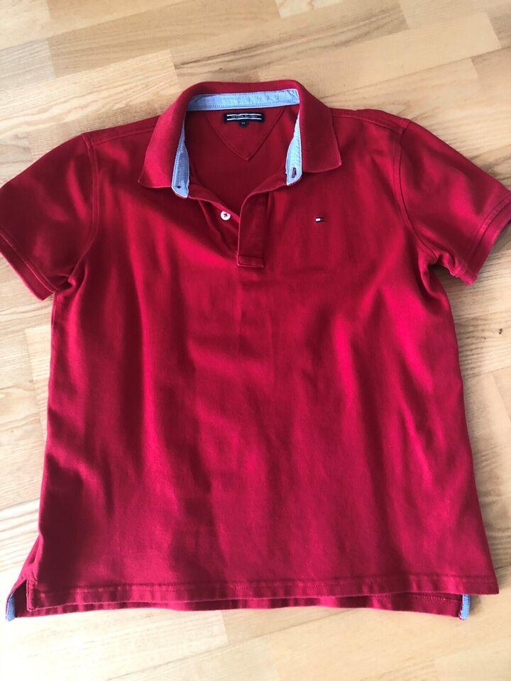 Polo t-shirt, Rød polo, Tommy Hilfiger