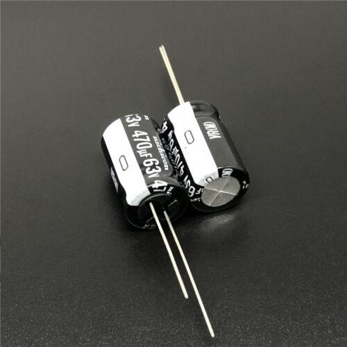 470uF 63V470uF Condensador Electrolítico NICHICON VR 12.5x20 Miniatura 5 un.//50 un