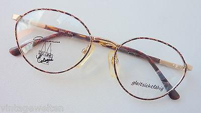 Einfach Vintagebrille Gormanns Metall-kunststoffkombi Hornoptiklook Federscharnier Sizem