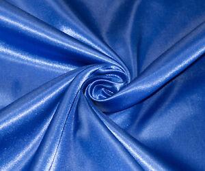 Royal-Blue-Silky-Satin-Dress-Craft-Fabric-Wedding-Material-150cm-Wide