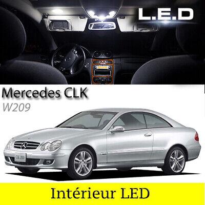Di Larghe Vedute Kit Ampoules à Led Pour L'éclairage Intérieur Blanc Mercedes Coupé Clk W209 Buono Per L'Energia E La Milza