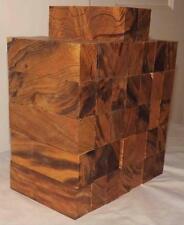 "Desert Ironwood 36 turning blanks blocks knife scales 5.2"" x 1.7"" x 1.2"" $4.00"