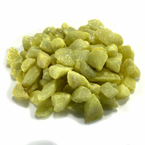 Light Jade Onyx Green Chippings for terrariums and craft projects 1-2CM 100g