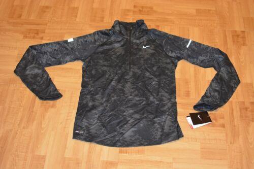 running zip Nike Tama Camiseta o de Camo mujer Jacquard Half mediano para xY5A16qw