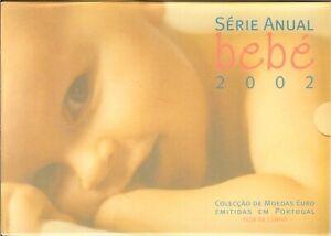 PORTUGAL - COFFRET BU 2002 (BEBE) ( avec les 8 pièces)