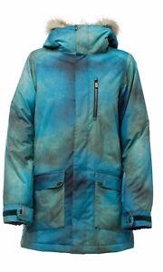 NIKITA  Hawthorne Jacket Textured Print  Snowboardjacke  Gr. S  UVP. 189,95€