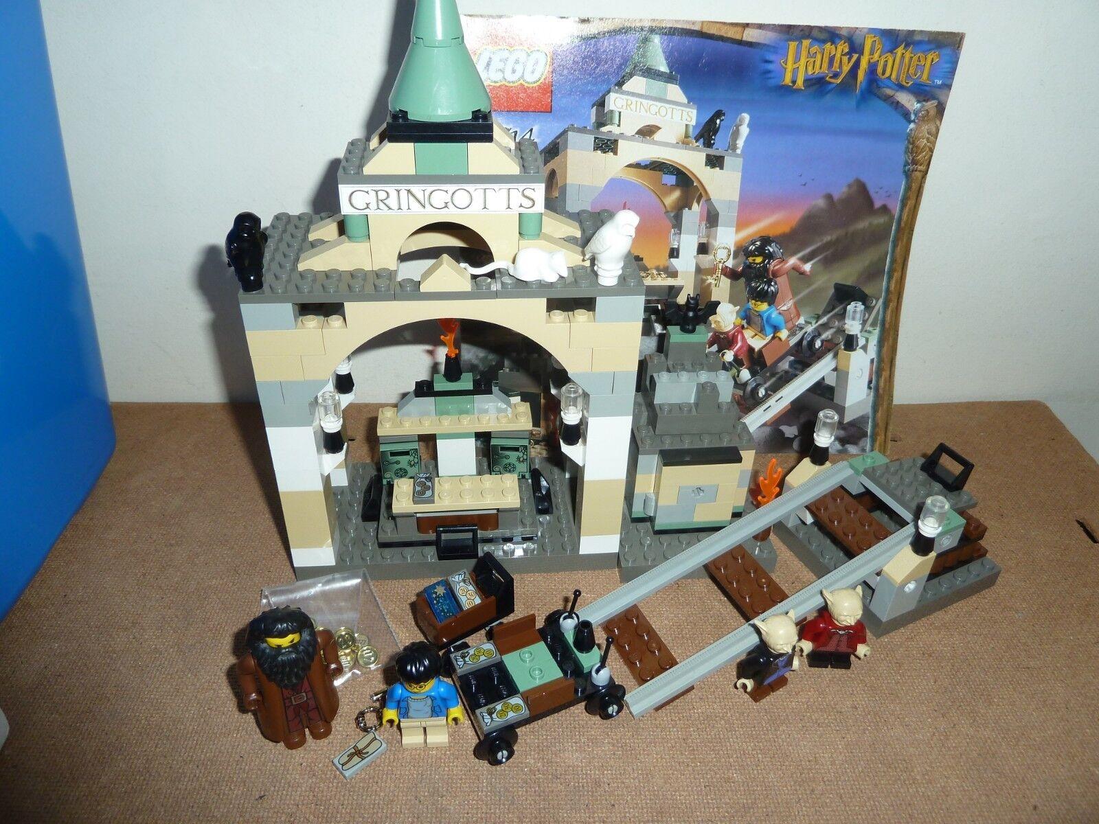 LEGO Harry Potter 4714 Gringott's Bank completa 4 Figure Goblin istruzioni