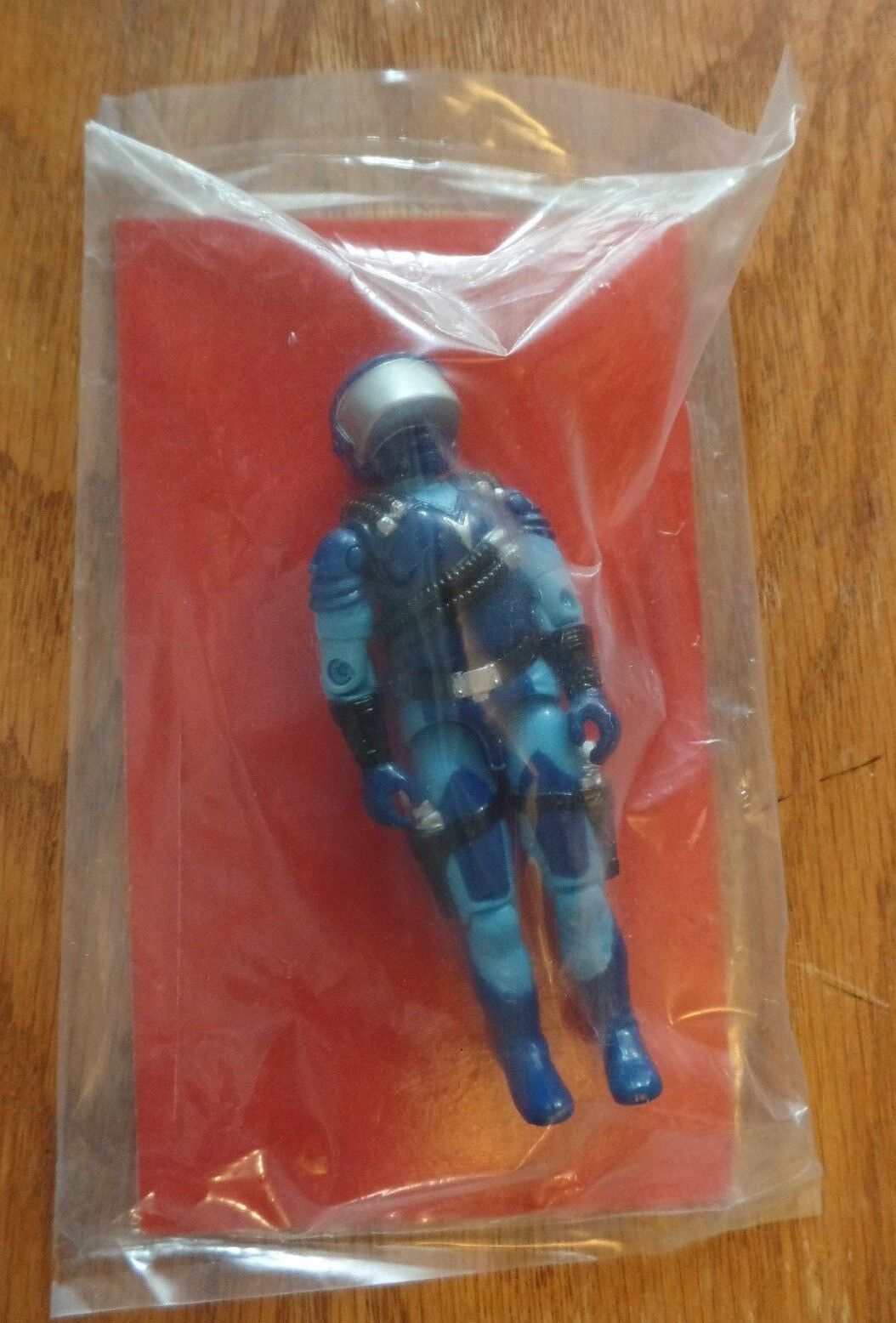 GI Joe Mail Away Motor-Viper COBRA STUN Driver RED FILE CARD SEALED MISP 1988