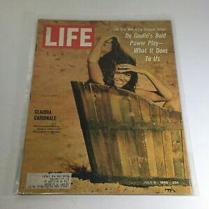 VTG Life Magazine: July 8 1966 - Claudia Cardinale/De Gaulle's Bold Power Play