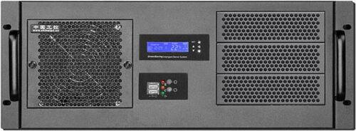"Redundant PSU OK! 3x5.25/""+9xHDDs Bay D:14.96/"" 4U F-LCD NEW Rackmount Chassis"