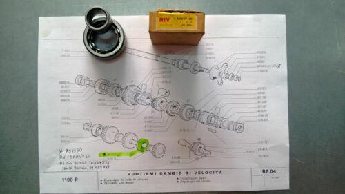 CUSCINETTO CAMBIO FIAT 1100 D//E//R d.20X47X18 SKF NU2204 EX RIV 1DAAVP OE 801550