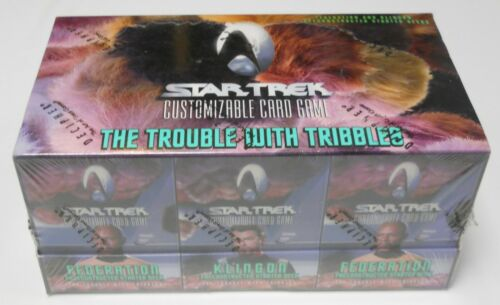 Decipher Star Trek Trouble with Tribbles starter deck box CCG Sealed NEW