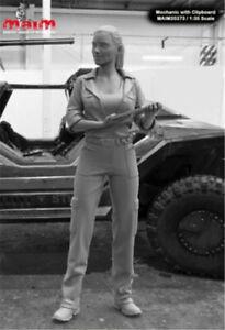1-35-Modern-Female-Soldier-Resin-Kits-Unpainted-Figure-Model-GK-Unassembled