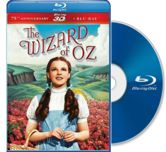 The Wizard of Oz 3d Target Limited Edition With Bonus Lunchbag 75th  Anniversar