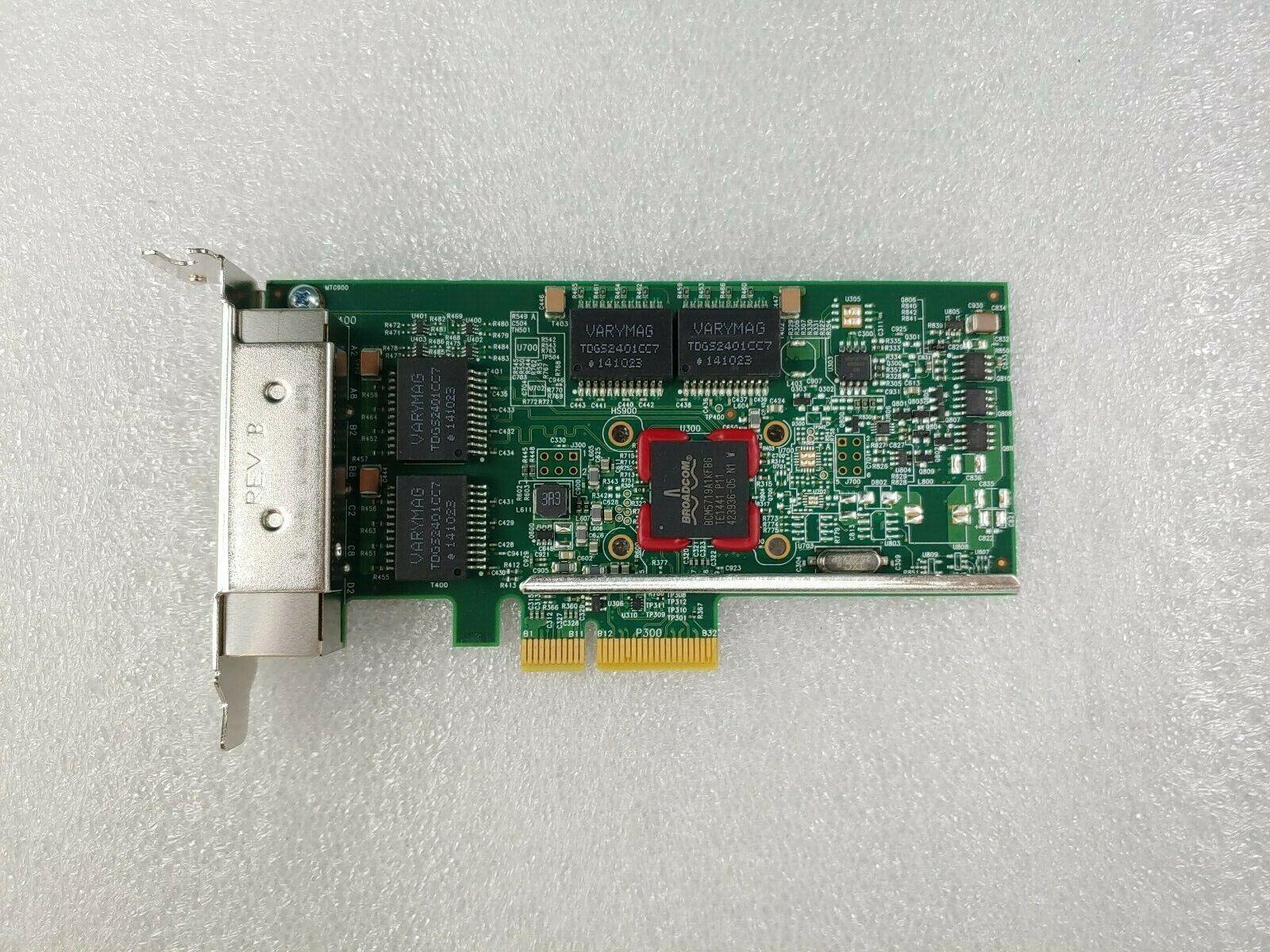 5260 IBM 00E2873 BROADCOM BCM95719A Quad-PORT 1G PCIe Low Profile